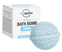 Blue CBD Bath Bomb