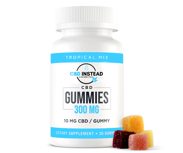 Fruity CBD Gummies (300mg) 30ct