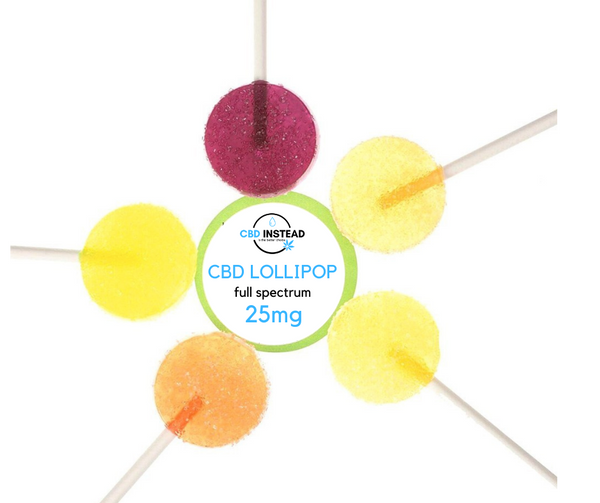 CBD Candy Lollipop (25mg)