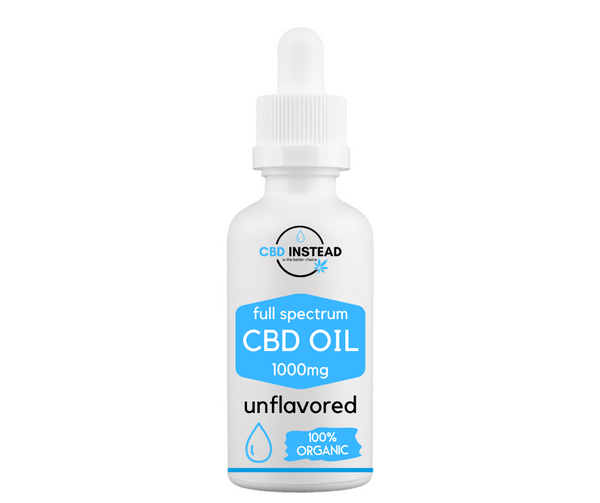 Organic CBD Oil 1000mg (Unflavored)
