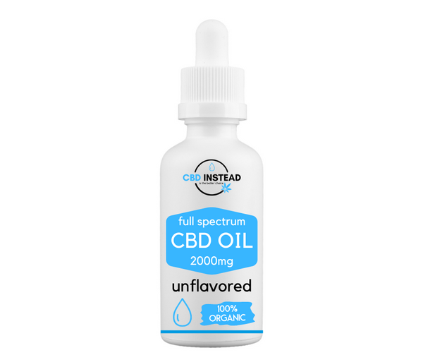 Organic CBD Oil 2000mg (Unflavored)