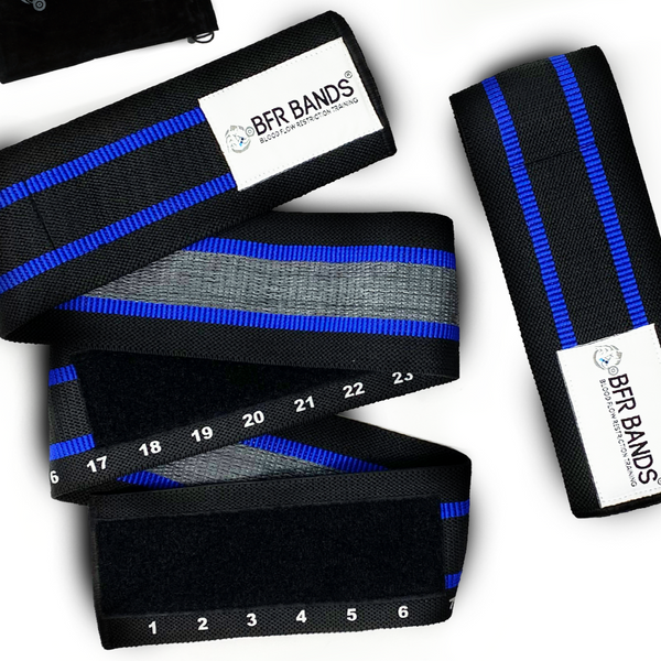 Double Wrap 2.0 Premium BFR Bands - Ideal for Glutes, Legs and Calves (Pre-Sale)