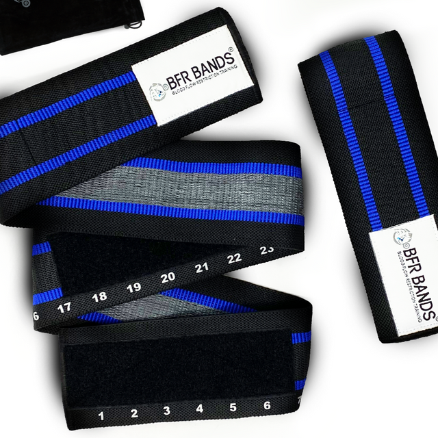 Double Wrap 2.0 Premium BFR Bands - Ideal for Glutes, Legs and Calves