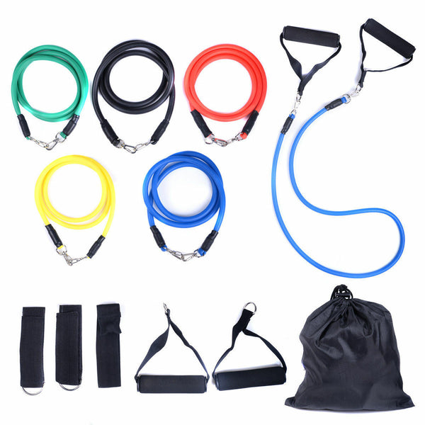Resistance Bands Set - Do BFR Training Workout Anywhere - Kit for Blood Flow Restriction Training
