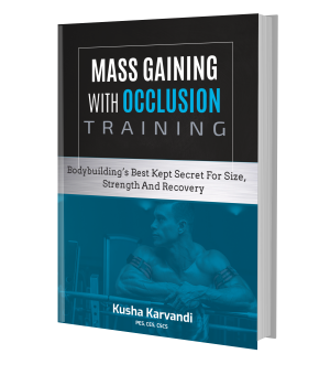 mass gaining with occlusion training book how to do blood flow restriction training