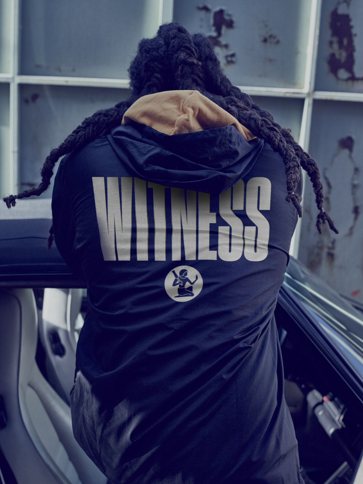WITNESS ANORAK WINDBREAKER