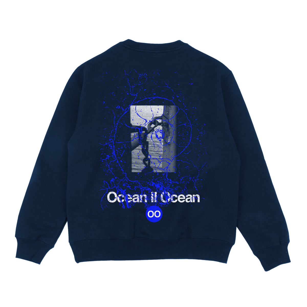 CYPRIEN GAILLARD - CREW FLEECE - NAVY