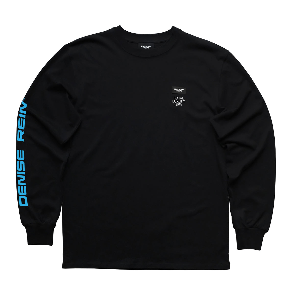 DENISE REIN - TOTAL LUXURY SPA L/S TEE - BLACK