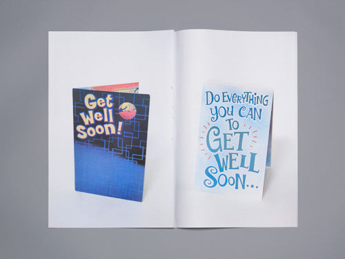 ERIK YAHNKER ZINE, GET WELL SOON