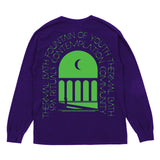 THERMAL BATH L/S TEE - PURPLE