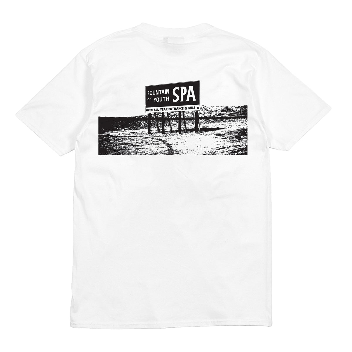 FOUNTAIN OF YOUTH - S/S - WHITE