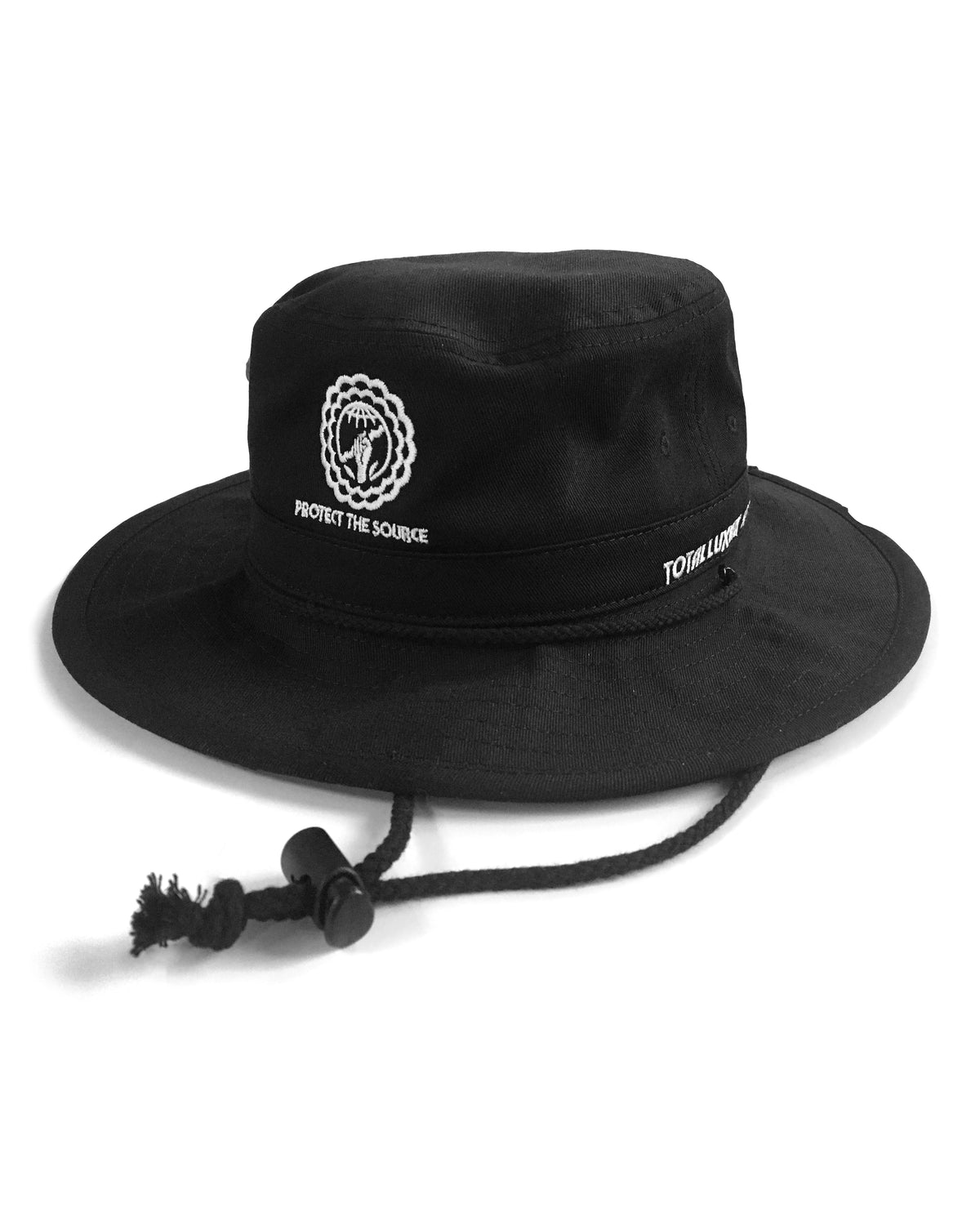 PROTECT THE SOURCE - RIVER HAT - BLACK