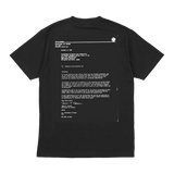 TAX FREE ACID S/S TEE - BLACK