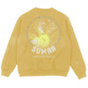 ASTRO INFINITY - CREW FLEECE - SOLAR YELLOW