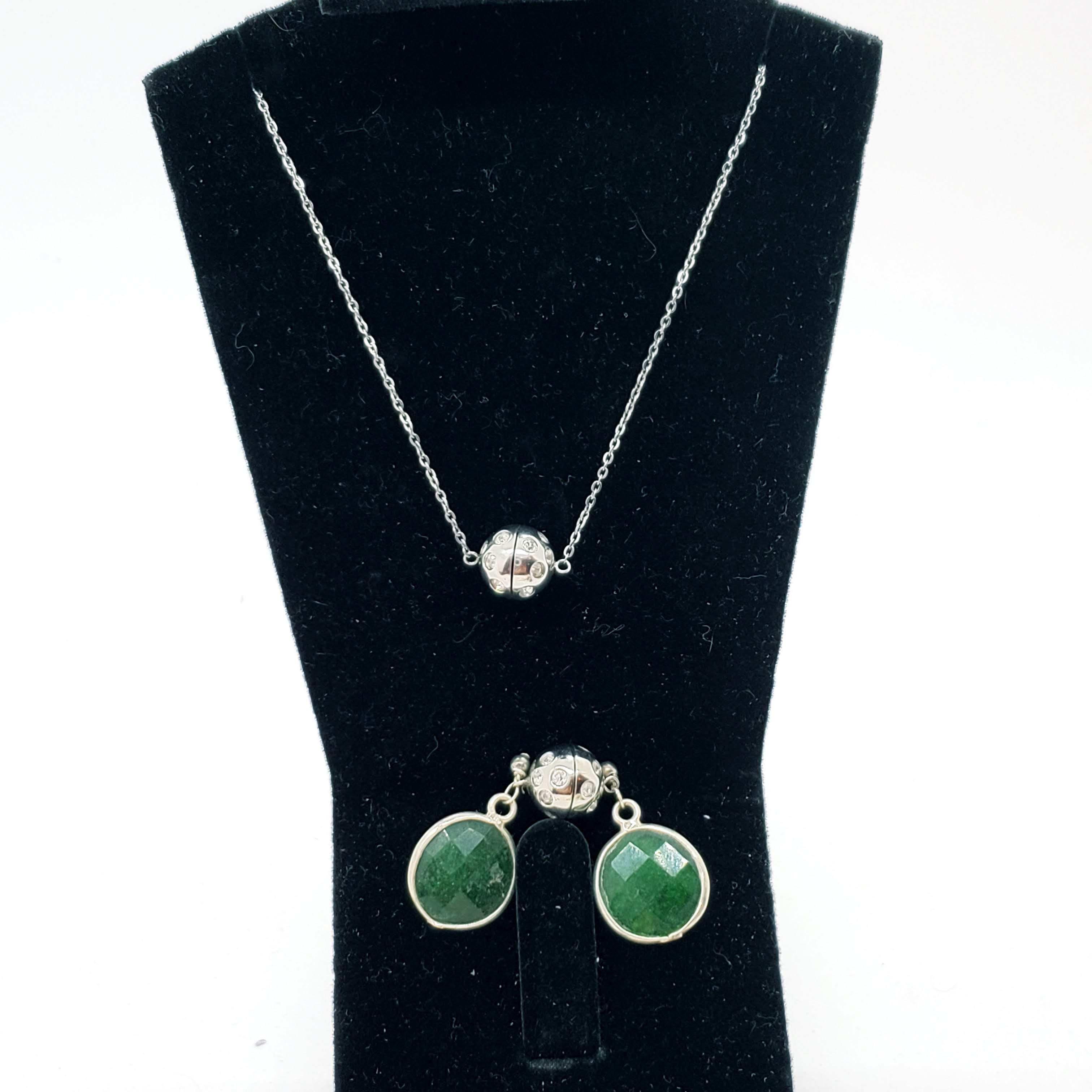 Emerald Stone Ending with Magic Necklace