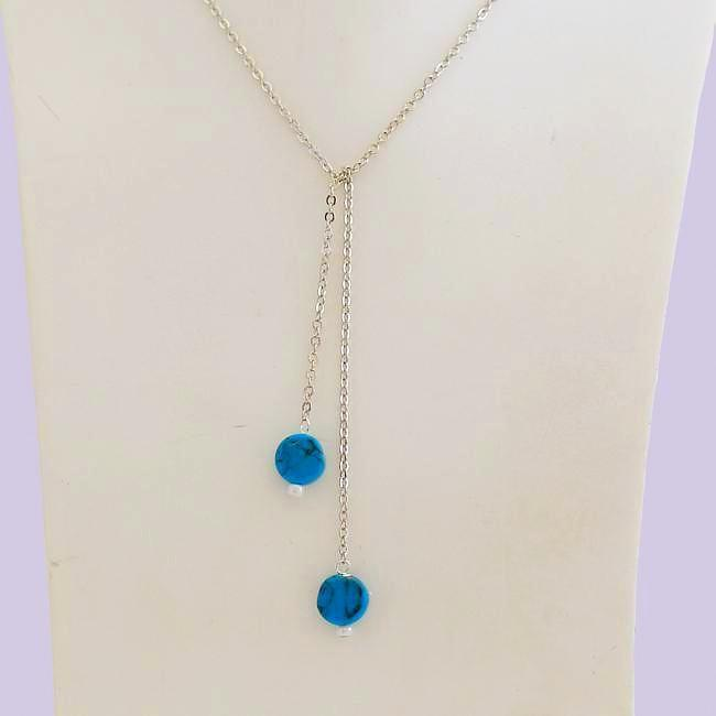 Dainty Circle Turquoise