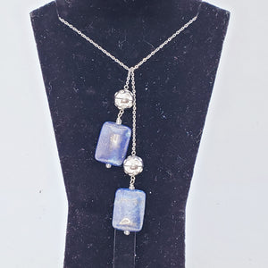 Magic Necklace and Lapis Stone Ending Set