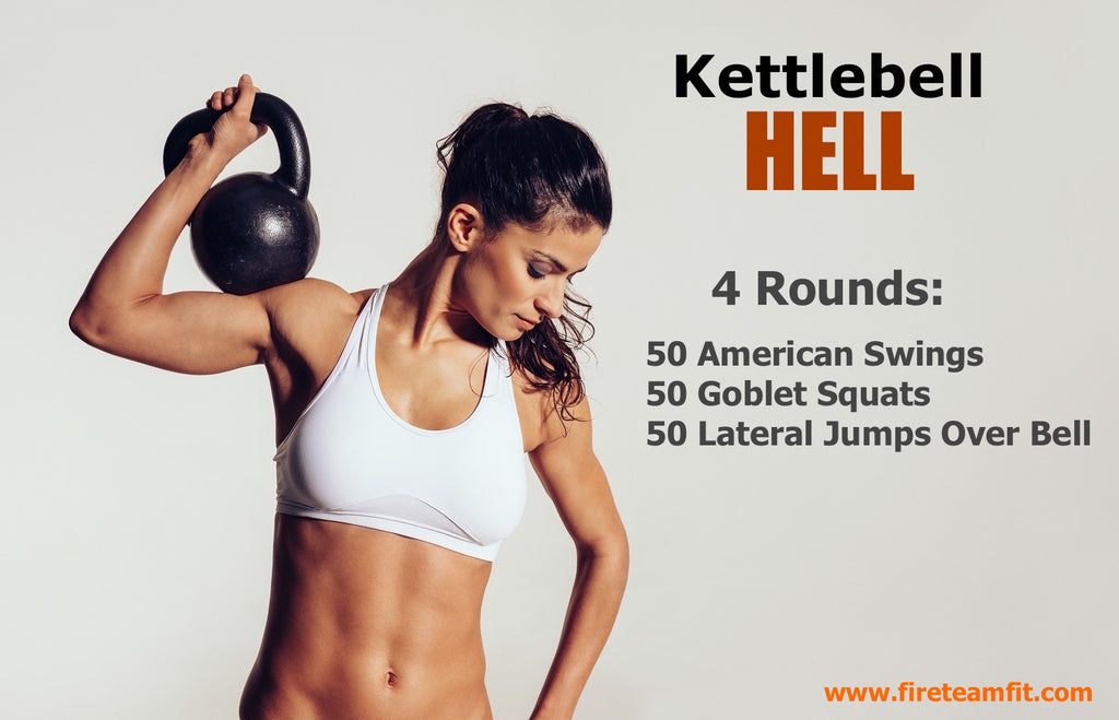 "Home Workout #6: ""Kettlebell HELL"""