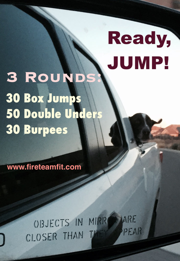 "Home Workout #4: ""Ready, JUMP!"""