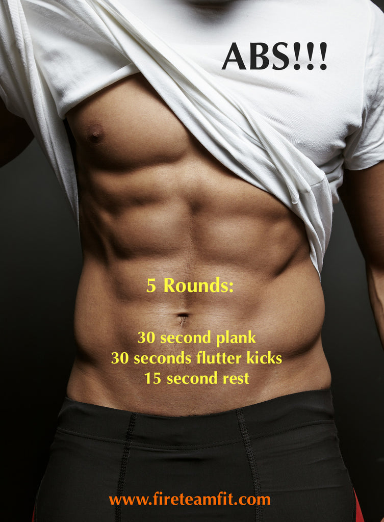 "Home Workout #5 ""ABS!"""