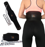 Comfortable Design - Unlike a stiff leather dipping belt, this flexible neoprene foam belt won't rub or chafe