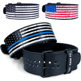 Fire Team Fit Single Prong Leather Weightlifting Belt