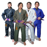 Fire Team Fit BJJ Gi, Jiu Jitsu Gi, Mens and Womens Kimono, Preshrunk, Brazilian Jiu Jitsu Gi with Free White Belt