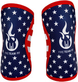 Fire Team Fit Knee Sleeve 7mm, Compression Support Weight Lifting Cross Training