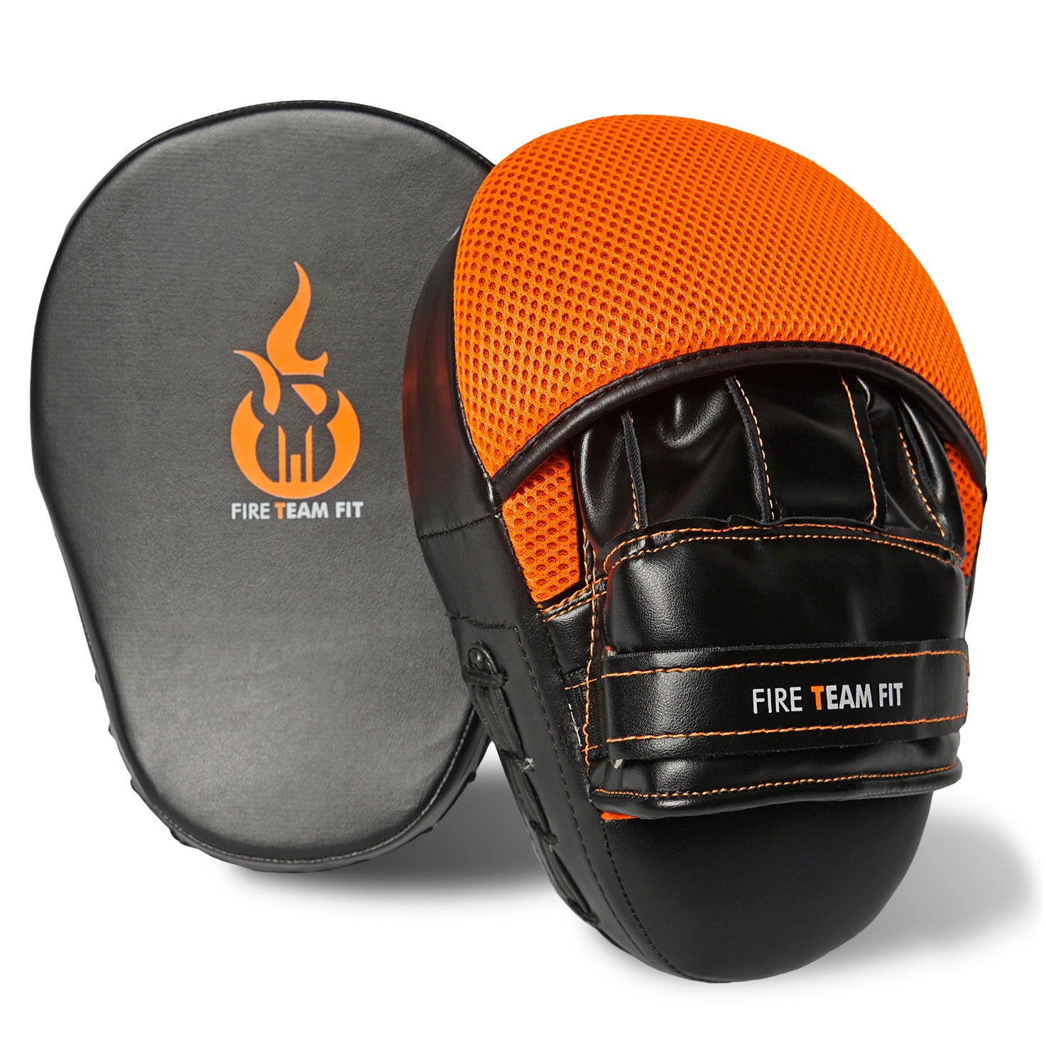 Fire Team Fit Boxing Mitts | Focus Mitts | Muay Thai Pads | Punching Mitts | Boxing Pads| Boxing Training Equipment