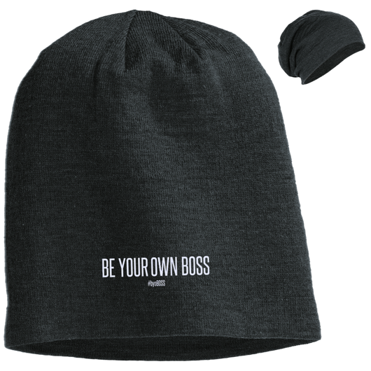 Be Your Own Boss Slouch Beanie