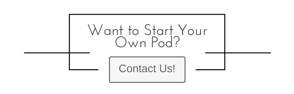 want to start your own pod? Let's go!