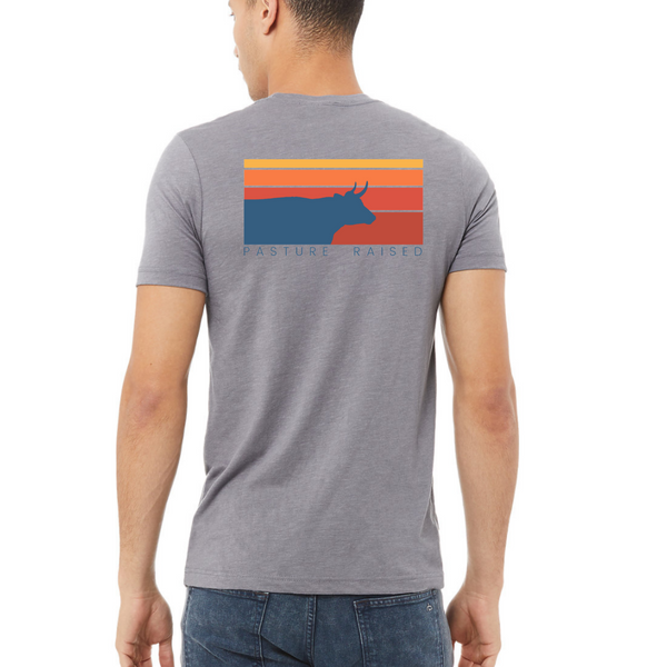 Pasture Raised Short Sleeve T - Charcoal