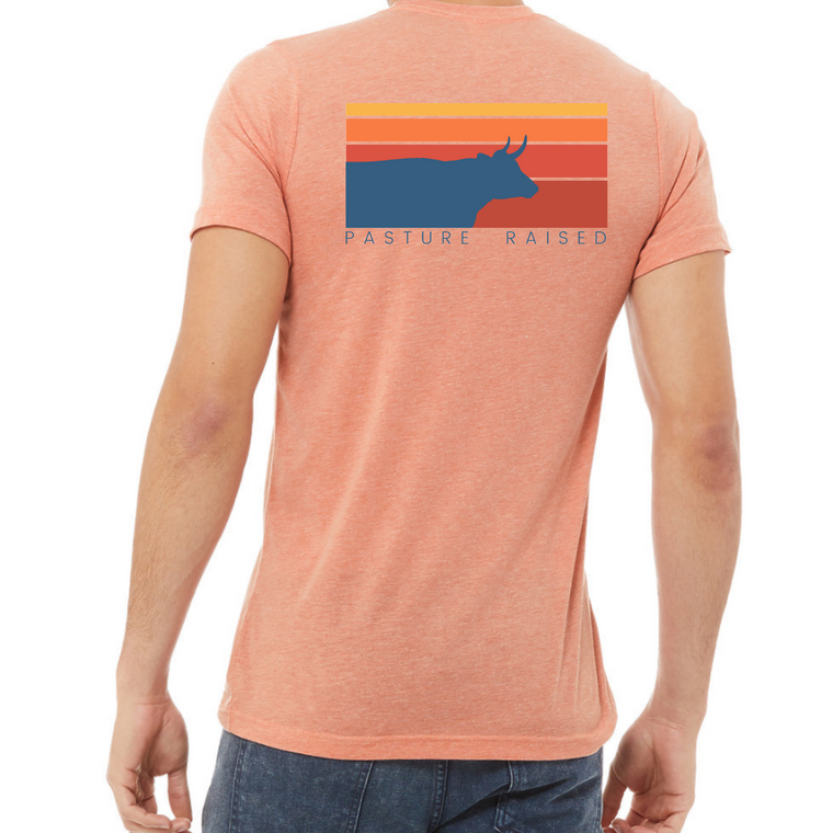 Pasture Raised Short Sleeve T - Sunset
