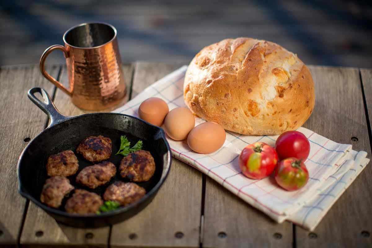 Breakfast made better with Edenthistle maple Sausage