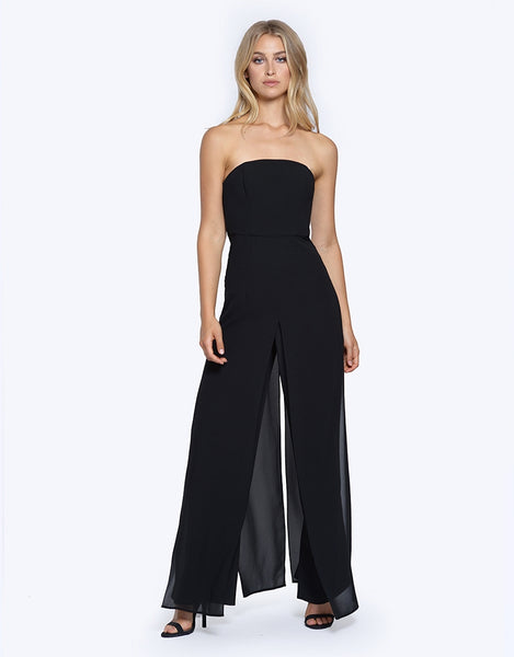 kiss tomorrow goodbye strapless jumpsuit