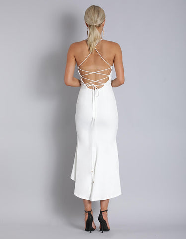 YOUR PARTY DRESS FISHTAIL MIDI