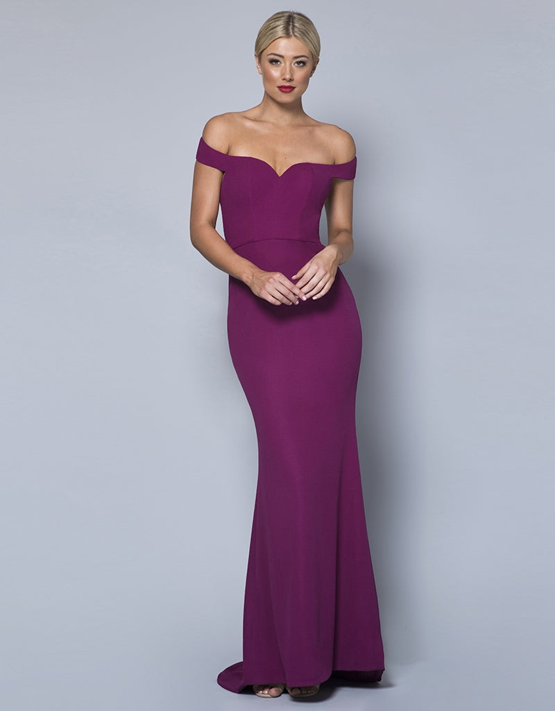 BELLA OFF-SHOULDER GOWN
