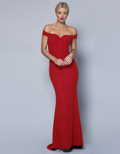 BELLA OFF-SHOULDER GOWN B31D23