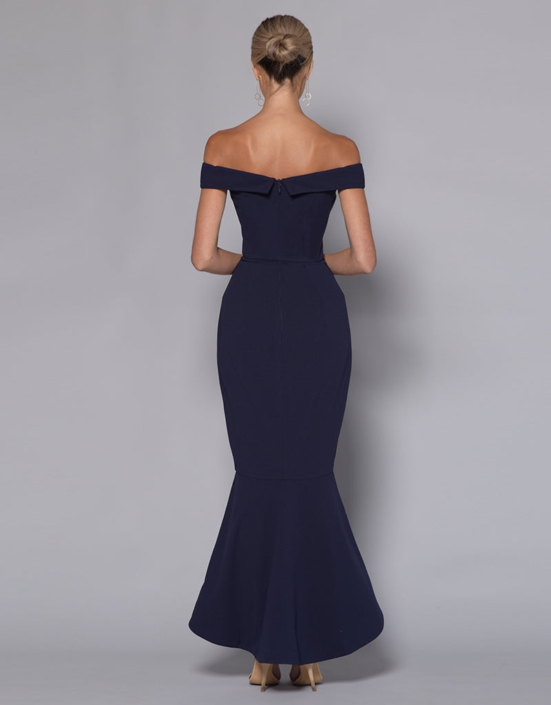 RUTH OFF SHOULDER TRUMPET MIDI