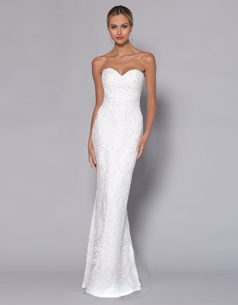 LORELEI SWEETHEART FISHTAIL GOWN B33D35-L