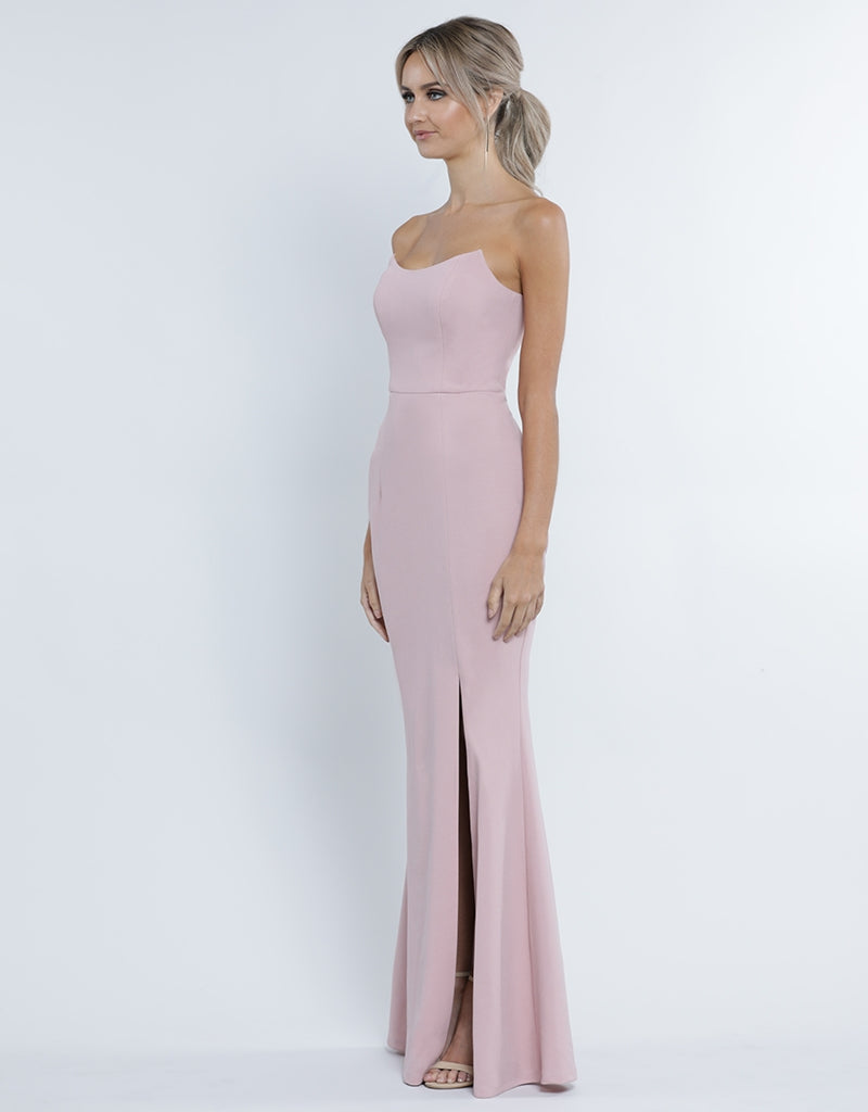 917389911c ... GIA SCOOP STRAPLESS GOWN B34D11-L
