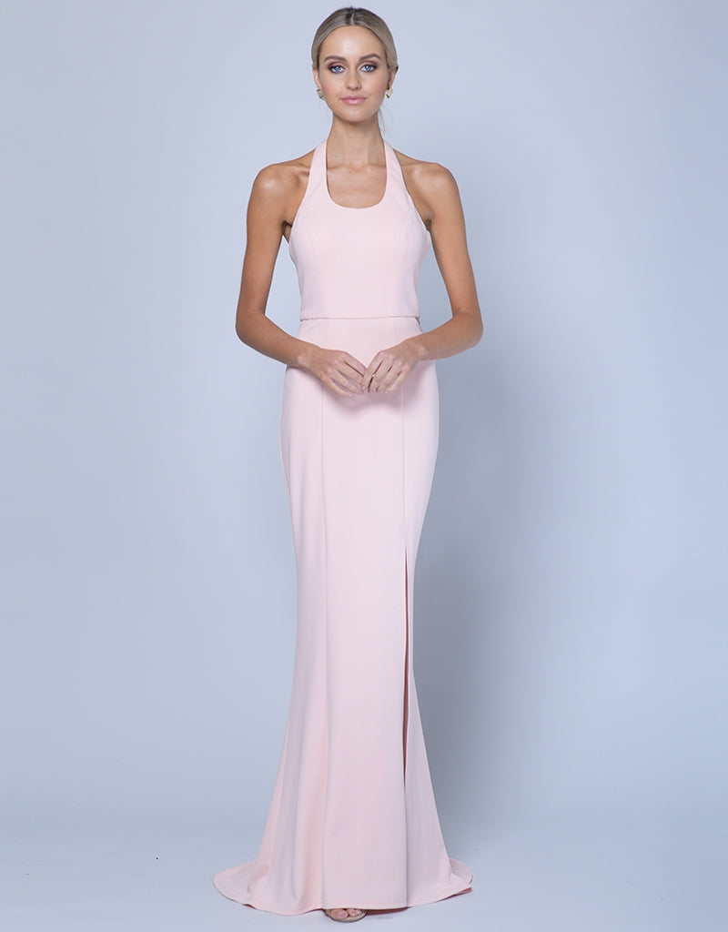 DREAMS SCOOP NECK GOWN B35D46-L