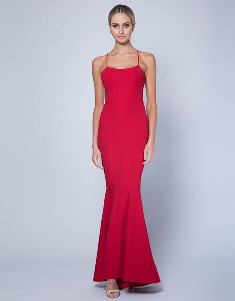 LOVE SCOOP NECK GOWN B35D51-L