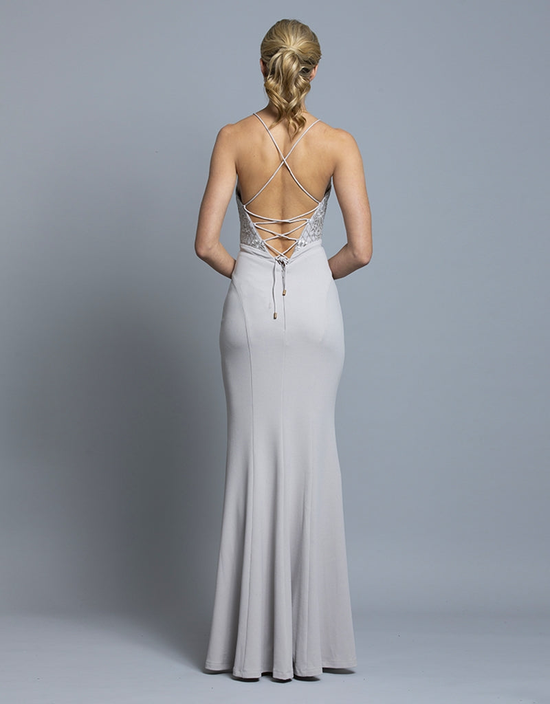 BROOKE STRAPPY GOWN B36D21L
