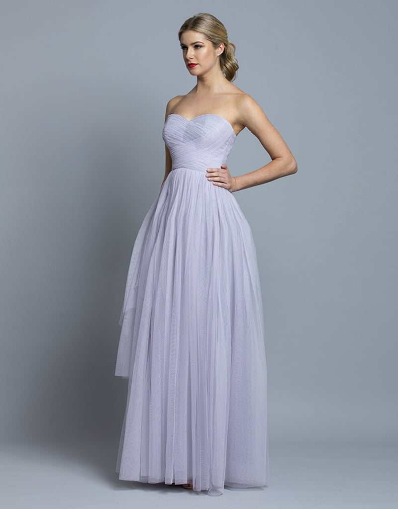 ANA SWEETHEART TULLE GOWN B36D38L