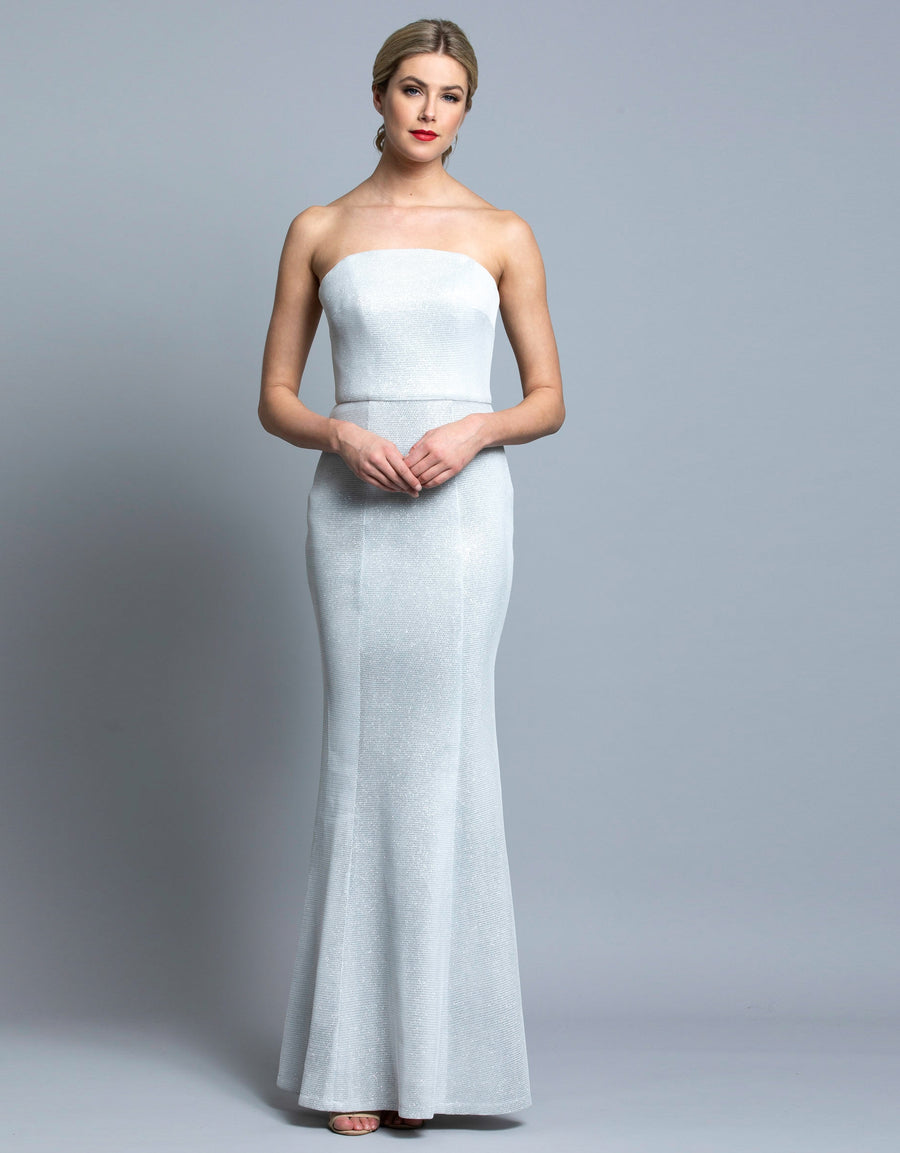 SELITA STRAPLESS FISHTAIL GOWN B36D41-LDS