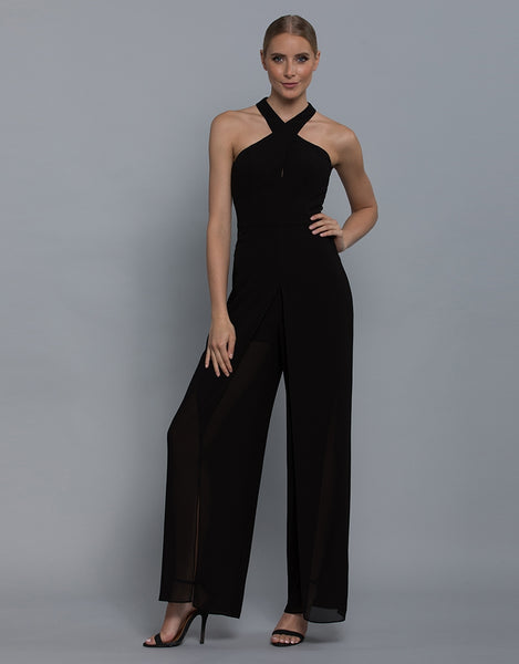 EVANGELINE HIGH NECK JUMPSUIT L36J01