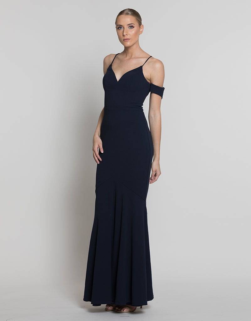 NATALIA COLD-SHOULDER GOWN B36D46-L