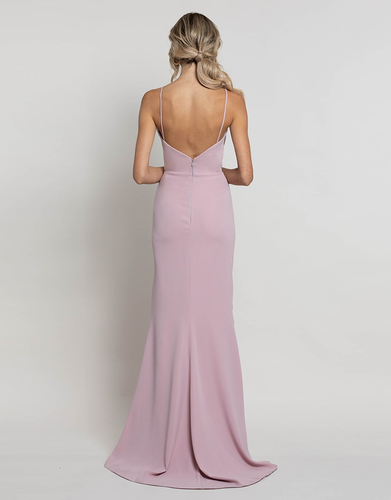 MADE-TO-ORDER // CHERUB DRAPE COWL GOWN BM100