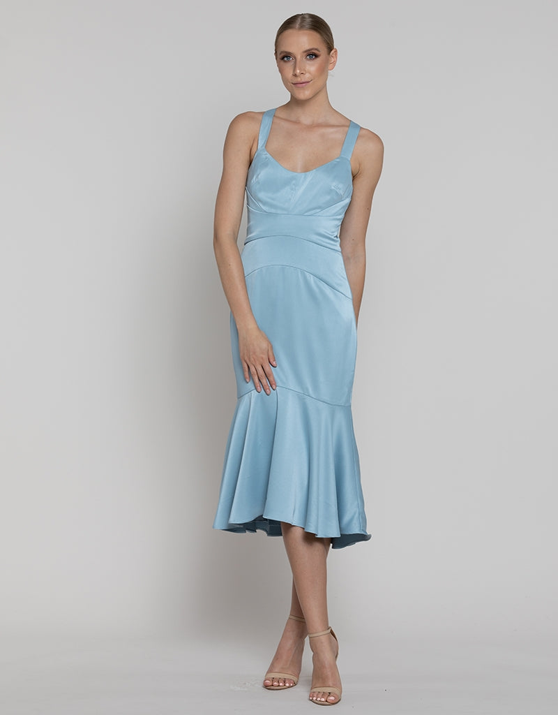 ALEXANDRINA PANEL DRESS L37D33-S